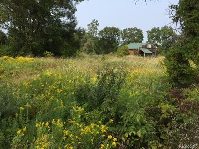 Superior, Superior Twp Residential Lots & Land For Sale: 7621 Warren Road