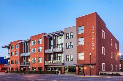 Royal Oak Condo/Townhouse For Sale: 111 N Main Street #303