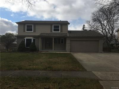 Livonia Single Family Home For Sale: 16843 Woodside Street