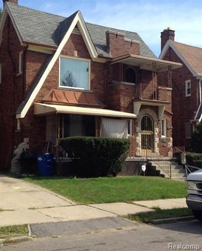 Detroit Multi Family Home For Sale: 17532 Santa Rosa Drive