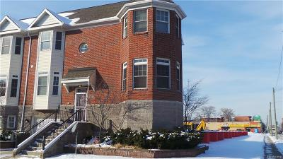 Detroit Condo/Townhouse For Sale: 1508 W Canfield Street
