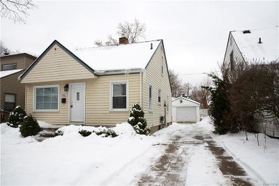Birmingham Single Family Home For Sale: 1480 Cole Street