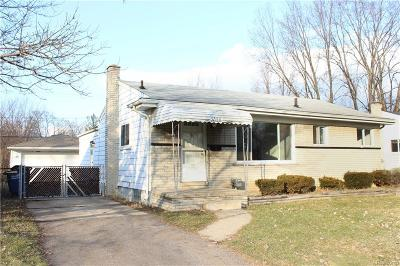 Westland Single Family Home For Sale: 32188 Palmer Road