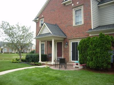 Canton Condo/Townhouse For Sale: 1632 Peninsula Court