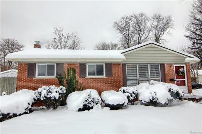 Southfield Single Family Home For Sale: 15875 W Thirteen Mile Road