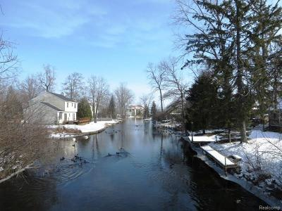 West Bloomfield Twp Residential Lots & Land For Sale: Vacant Clinton Drive