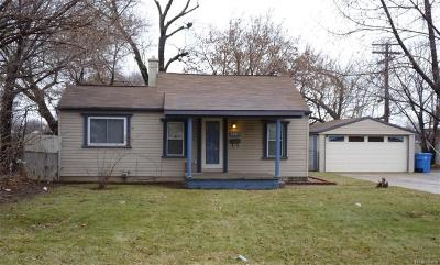 Dearborn Heights Single Family Home For Sale: 5681 Monroe Street