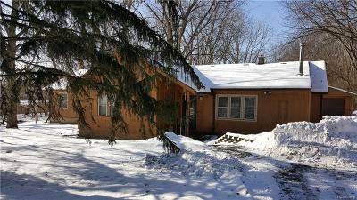 Farmington, Farmington Hills Single Family Home For Sale: 27975 Alycekay Street