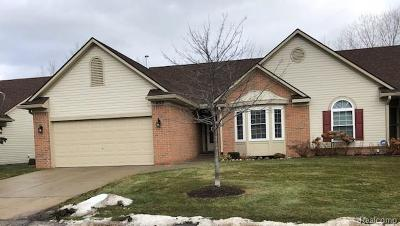 Commerce, Commerce Township, Commerce Twp Condo/Townhouse For Sale: 432 Mulberry Drive #64