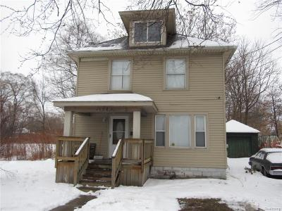 Pontiac MI Single Family Home For Sale: $43,900