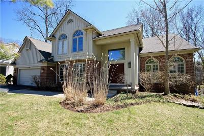West Bloomfield Twp Single Family Home For Sale: 4978 Oak Hollow