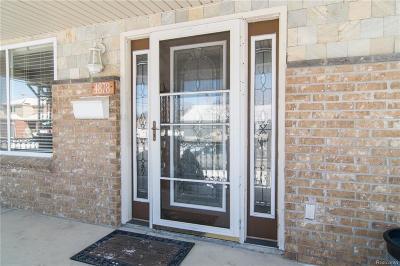 Dearborn Single Family Home For Sale: 4878 Walwit Street