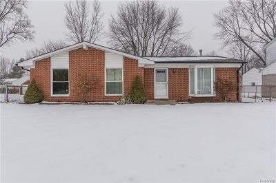 Van Buren, Van Buren Twp Single Family Home For Sale: 10522 Jackson Street