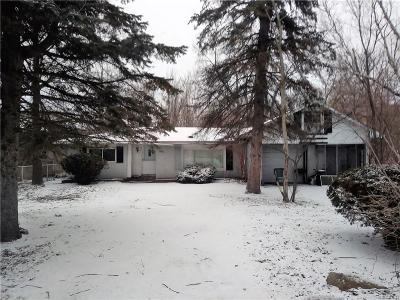 Romulus Single Family Home For Sale: 35300 Ecorse Road