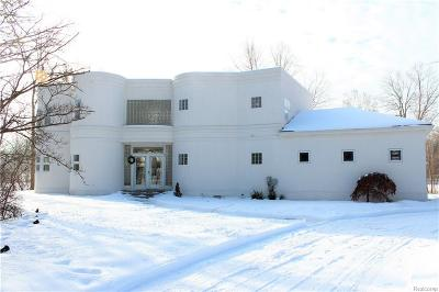 Bloomfield, Bloomfield Hills, Bloomfield Twp, West Bloomfield, West Bloomfield Twp Single Family Home For Sale: 4845 Bryn Mawr Drive