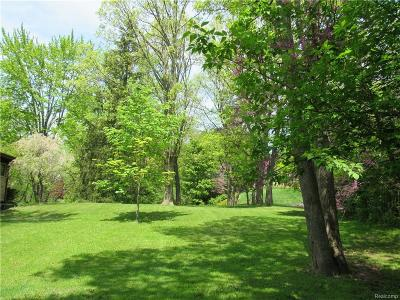 Bloomfield Twp Residential Lots & Land For Sale: 1903 Raymond Place