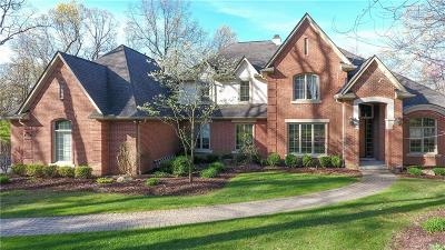 City Of The Vlg Of Clarkston, Clarkston, Independence, Independence Twp Single Family Home For Sale: 5513 Avington Parkway