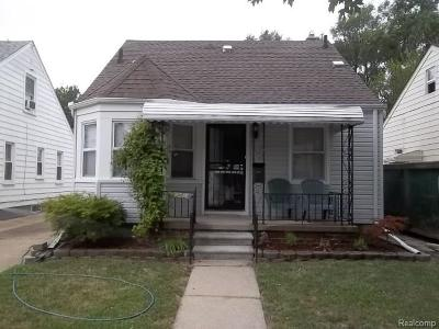 Dearborn, Dearborn Heights Single Family Home For Sale: 7911 Coleman Street