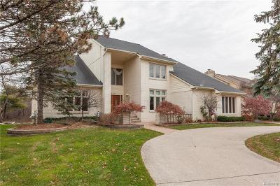West Bloomfield Twp Single Family Home For Sale: 6719 Stonebridge Court