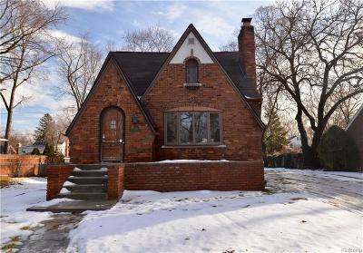 Livonia Single Family Home For Sale: 11026 Ingram Street