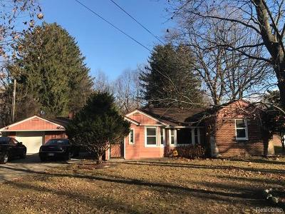 Southfield Single Family Home For Sale: 21250 Sherman Avenue