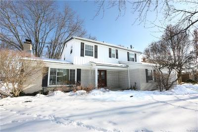 Farmington, Farmington Hills Single Family Home For Sale: 28895 Rockledge Drive