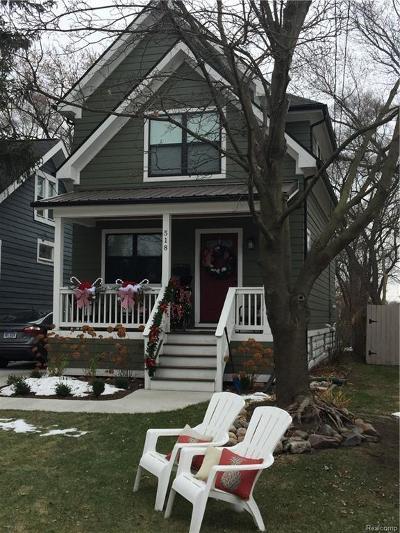 Royal Oak Single Family Home For Sale: 518 E Hudson Avenue