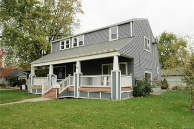 Clawson Single Family Home For Sale: 424 John M Avenue