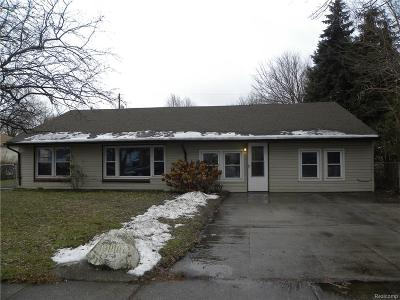 Macomb County Single Family Home For Sale: 19810 Lakeworth Street