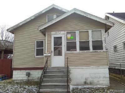 Warren MI Single Family Home For Sale: $29,999