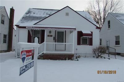 Dearborn Single Family Home For Sale: 24055 Boston Street