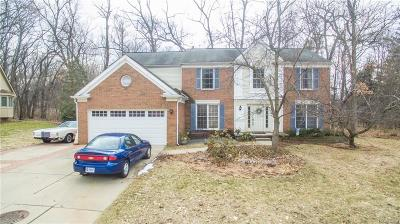 West Bloomfield Twp Single Family Home For Sale: 3350 Park Forest Drive