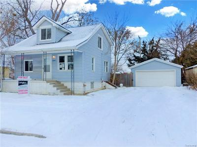 Wyandotte Single Family Home For Sale: 444 Clinton Street