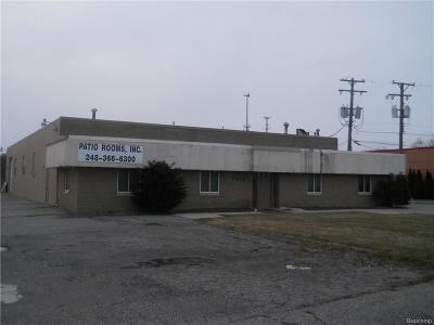 Commerce Twp Commercial For Sale: 2873 Haggerty Highway