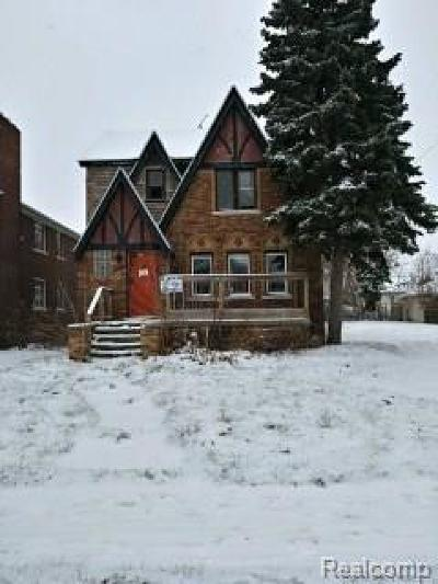 Detroit Single Family Home For Sale: 17203 Runyon Street