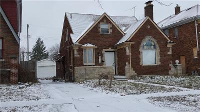 Detroit Single Family Home For Sale: 5527 Devonshire Road