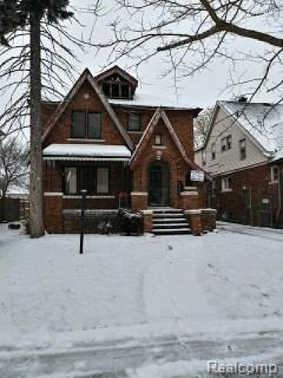 Detroit Single Family Home For Sale: 17225 Runyon Street