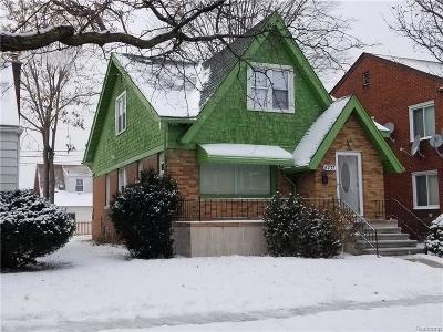 Single Family Home For Sale: 5737 Argyle Street