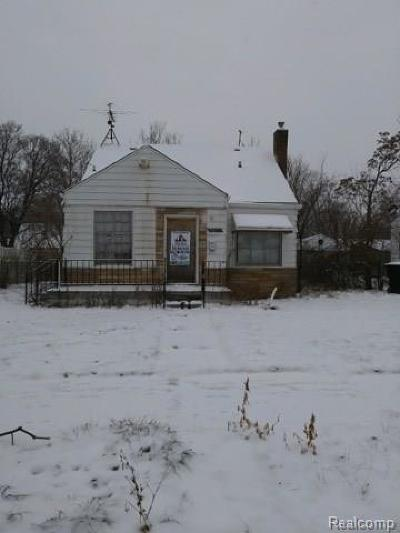 Detroit Single Family Home For Sale: 20057 Moenart Street
