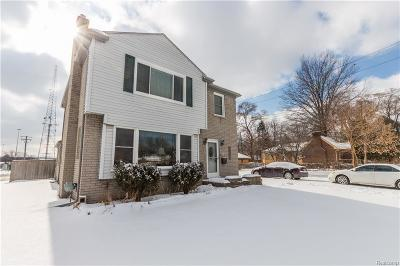 Royal Oak, Royal Oak Twp Single Family Home For Sale: 2510 Dallas Avenue