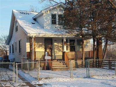 Detroit Single Family Home For Sale: 19192 Omira Street