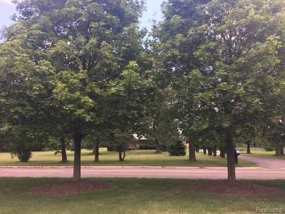 Auburn Hills Residential Lots & Land For Sale: 3080 Shimmons Road