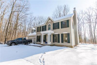 Holly Single Family Home For Sale: 14465 N Holly Road