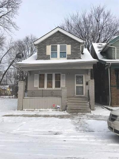 Detroit Single Family Home For Sale: 4076 32nd Street