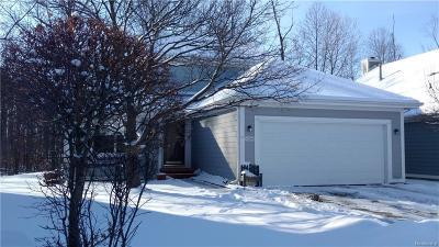 Novi Condo/Townhouse For Sale: 41346 Cornell Drive
