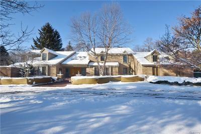 Bloomfield, Bloomfield Hills, Bloomfield Twp, West Bloomfield, West Bloomfield Twp Single Family Home For Sale: 257 Pine Ridge Drive