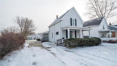 Macomb County Single Family Home For Sale: 35 Beyne Street