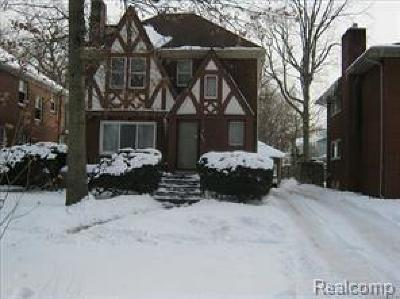 Detroit Single Family Home For Sale: 8431 Marygrove Street NW