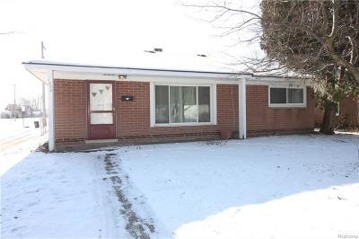 Madison Heights Single Family Home For Sale: 1270 E Brockton Avenue