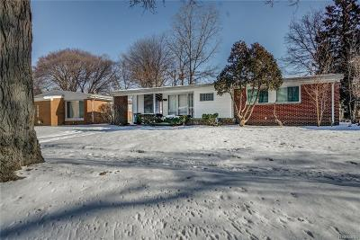 Oakland County Single Family Home For Sale: 23040 Eastwood Street